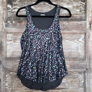 Holiday Sequin Tank Top